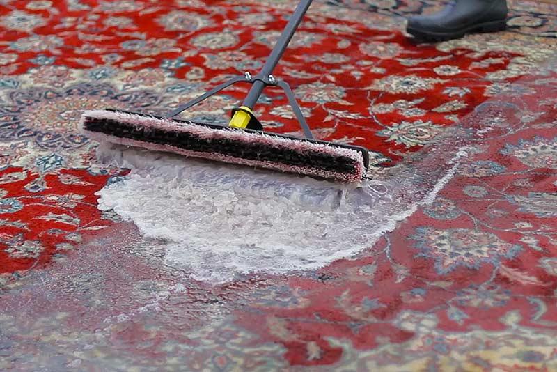 شستشوی فرش به روش سنتی