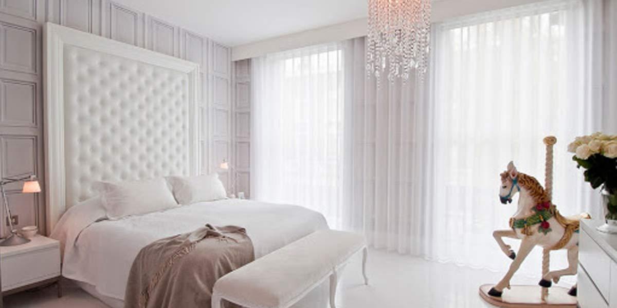 کثیفی و چرک پرده های سفید یکی از مشکلات رایج خانمهای خانهدار است