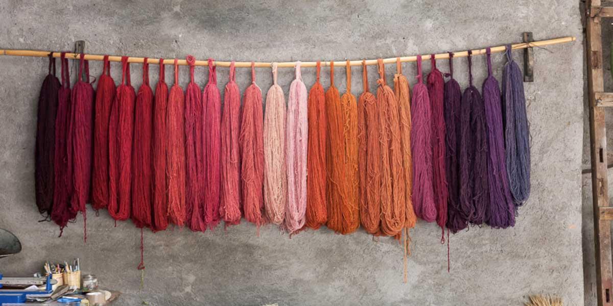 رنگرزی سنتی و صنعتی فرش