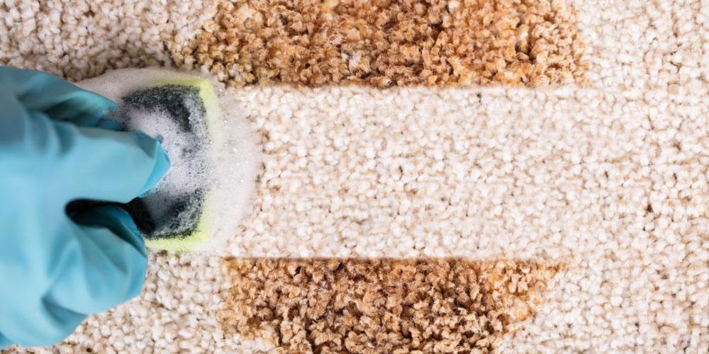 ترفند براق کردن فرش