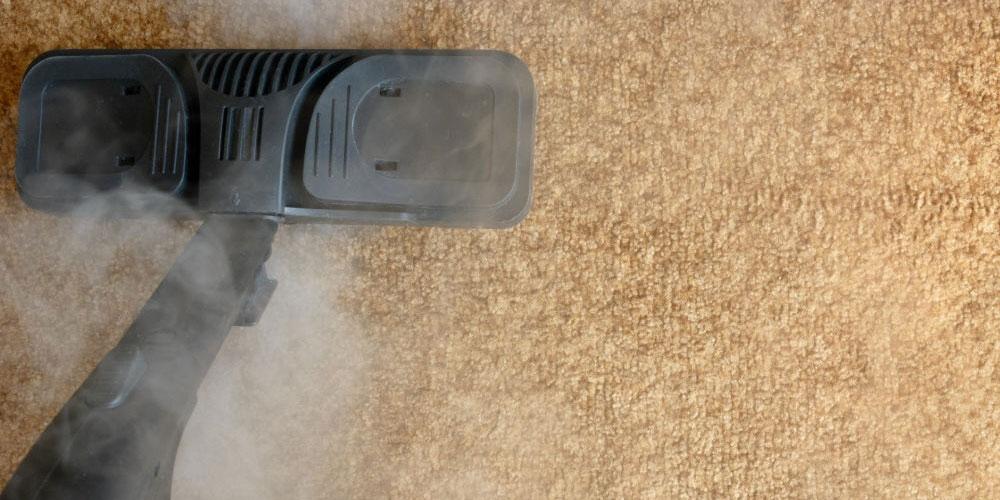 تميز كردن فرش با بخارشو