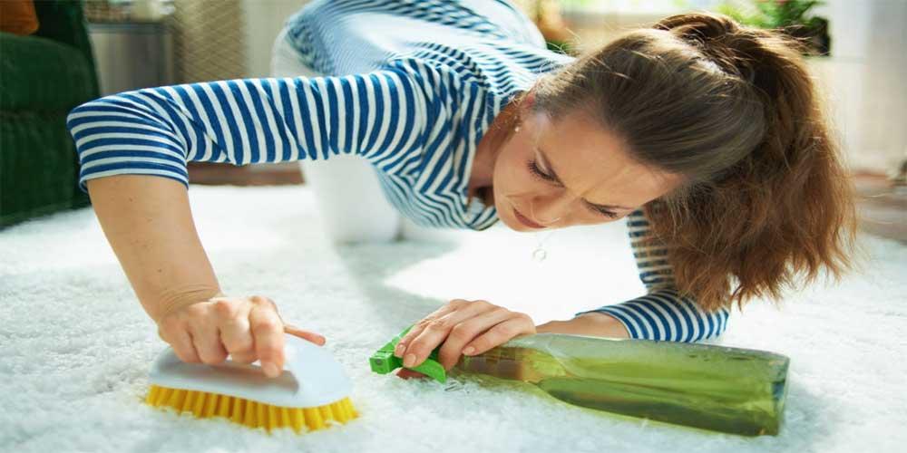 استتفاده از شامپو فرشکردن